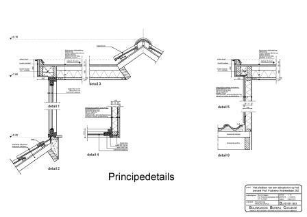 Details dakopbouw