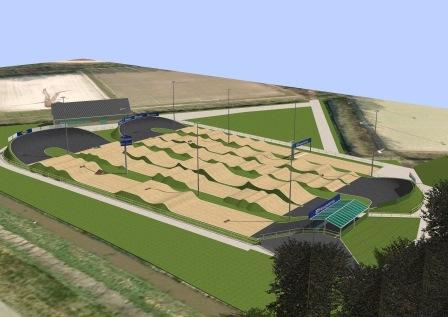 Fietscrossbaan model