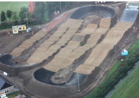 Luchtfoto BMX baan